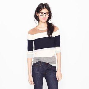 J Crew Colorblock Tippi Sweater - Small/XS